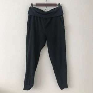 Fabletics Labaree Slim Slouch Fold Over Jogger